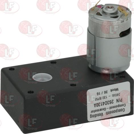 MOTORREDUCTOR 263D 24V 130rpm