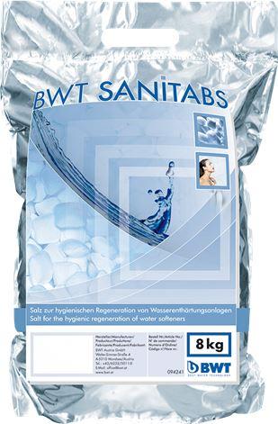 SAL SANITIZANTE PASTILLAS 8 kg