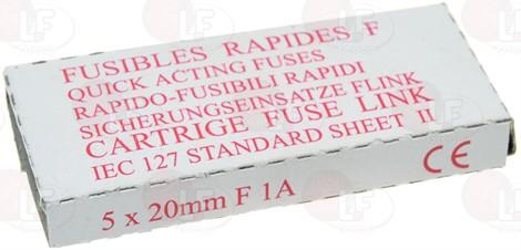 FUSIBILE RÁPIDO ø 5x20 mm - 10 UDS.