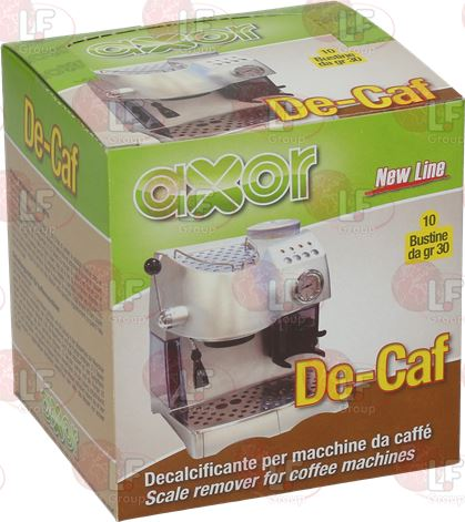 descalcificador AXOR DE-CAF 10 SOBRES