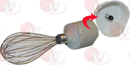 WHISK ASSY COMP WITH COLLAR HB714